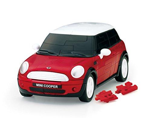 Nuovo Nuovo Nuovo 64 Piece auto Puzzle 3D Mini Cooper rosso c376fc
